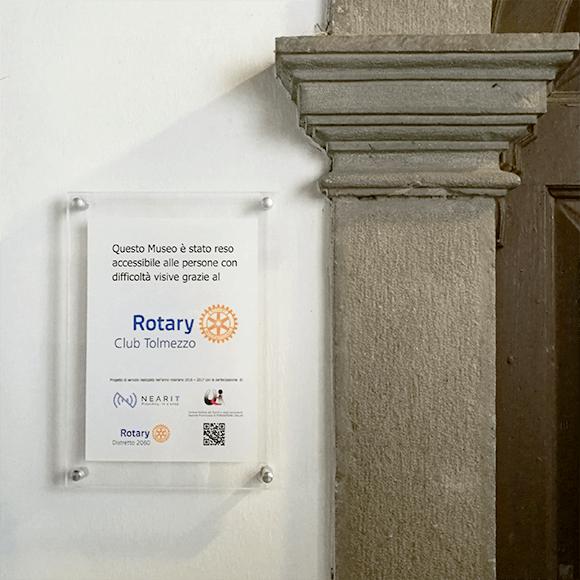 Rotary Club Tolmezzo sceglie NearIT